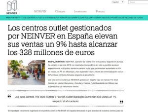 Undosclick en Prensa - Web Corporativa Neinver