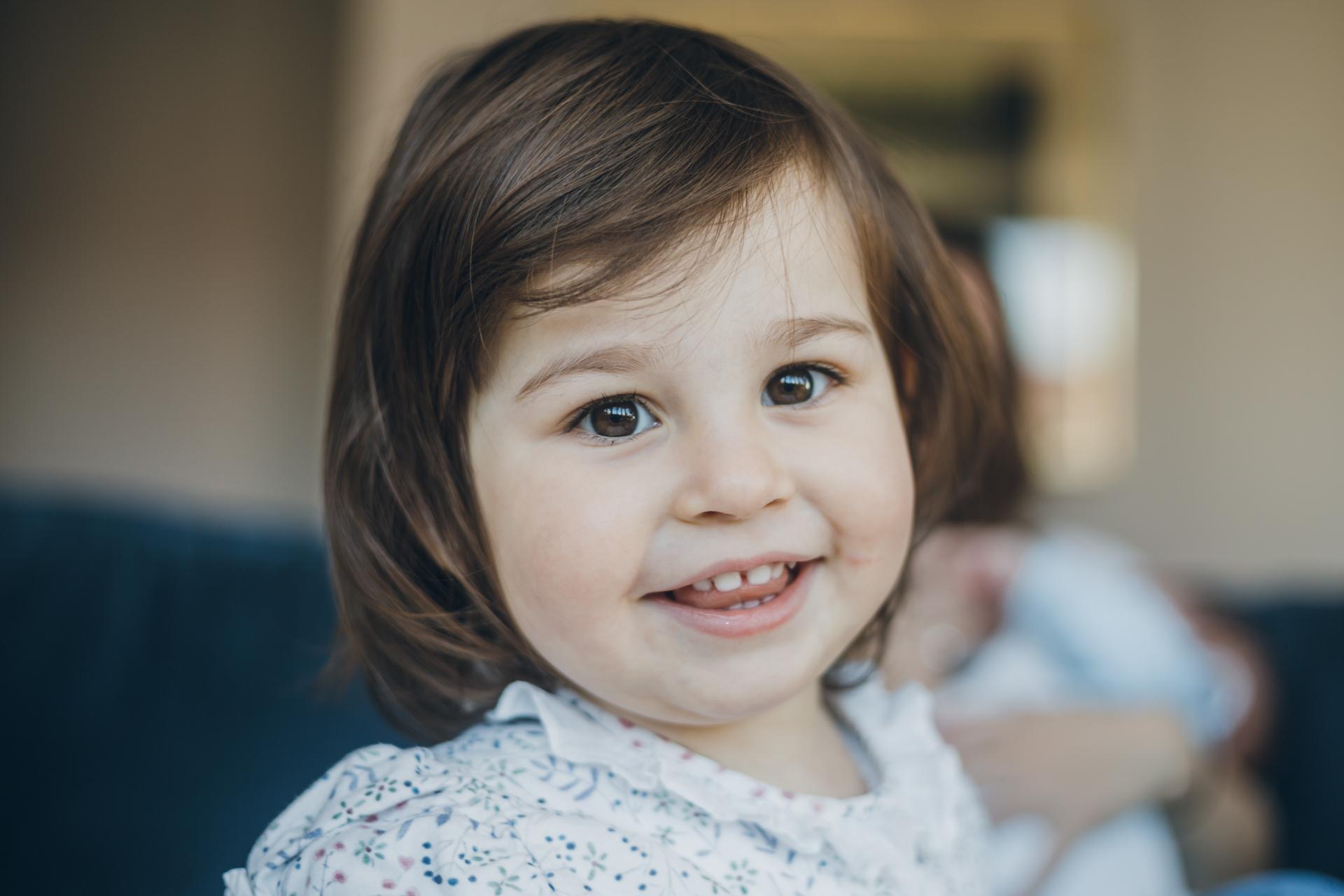 Reportaje de Familia y bebes en domicilio - Cristina