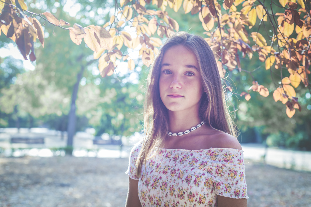 Sesión de Fotografía de Niños en Exteriores - Casilda