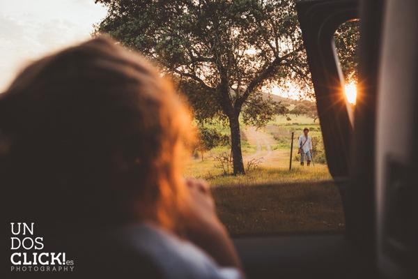Sesión de Fotografía de Niños en Exteriores - Mencía y Juan