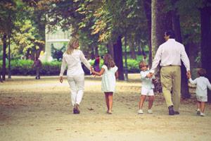 Sesión de Familia en Exteriores