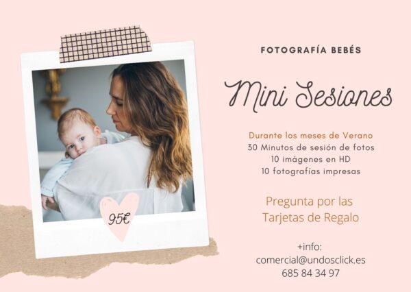 Mini Sesiones de fotografía bebes