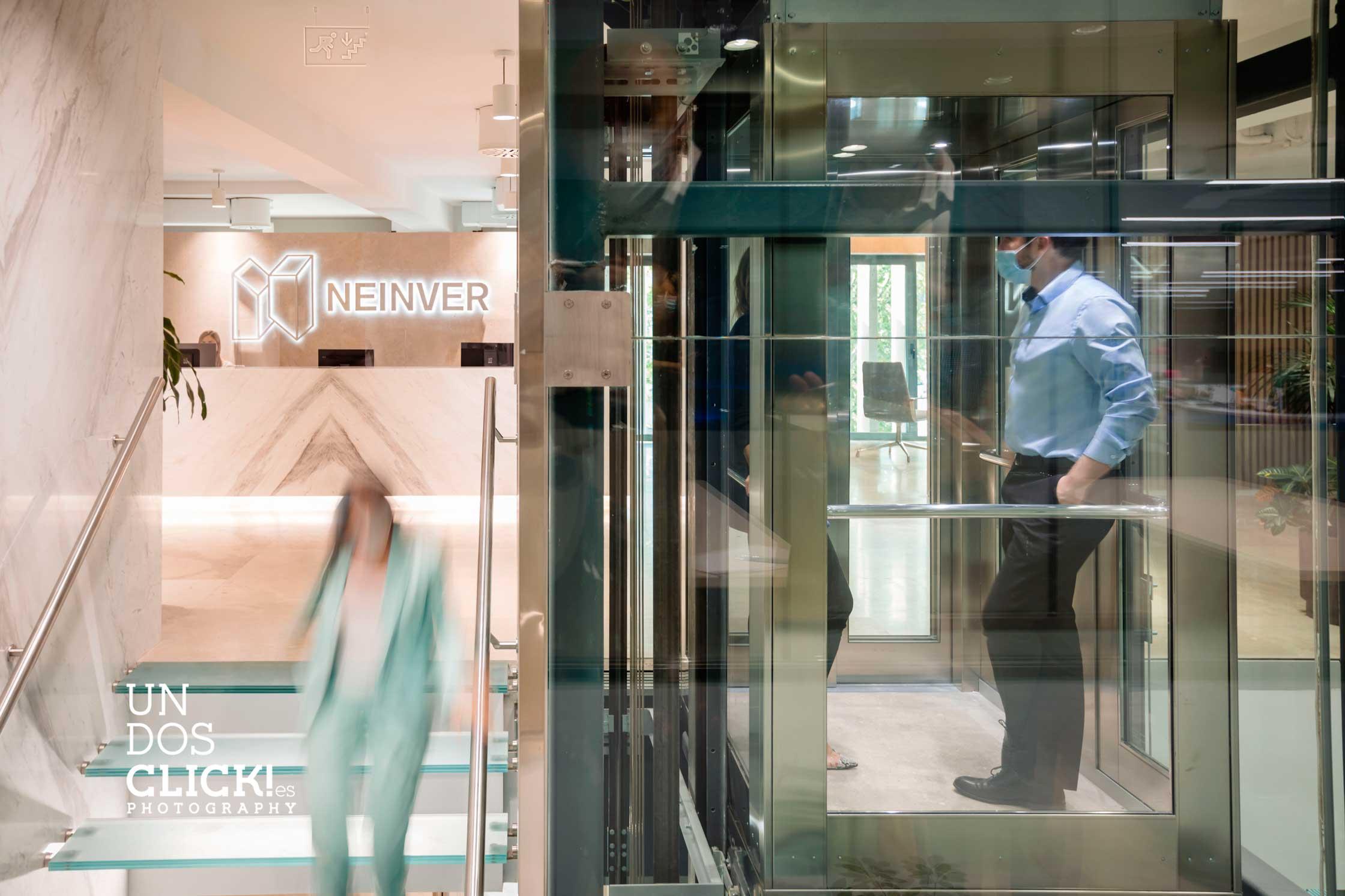 Reportaje Oficinas Neinver - Madrid